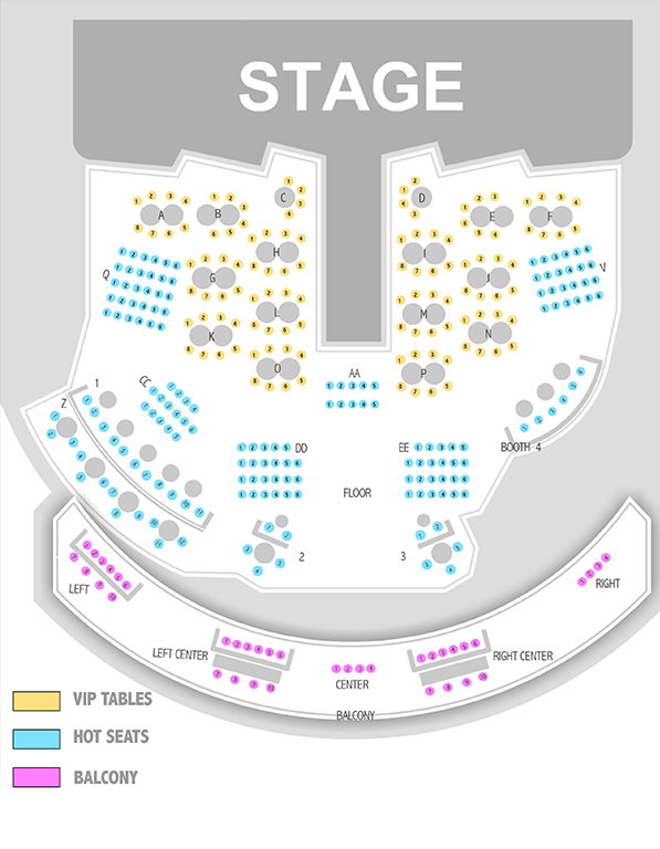 Chippendales Seating Chart Brokeasshome Com